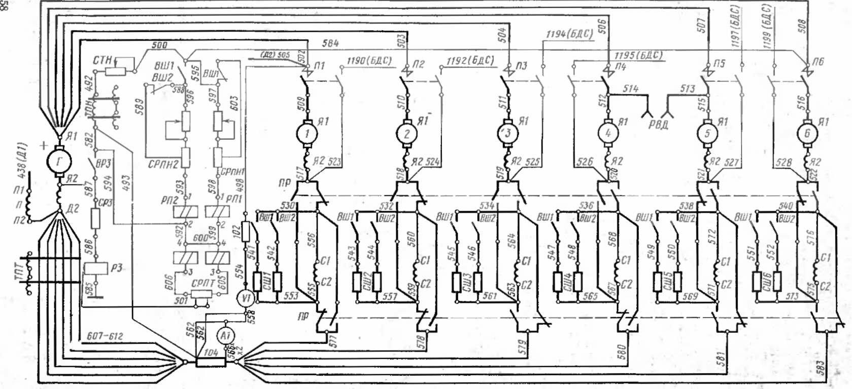 схема сигнализации при обрыве провода