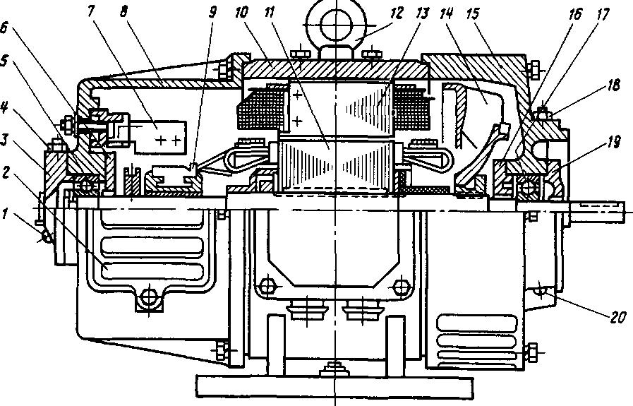 Схема соединений обмоток