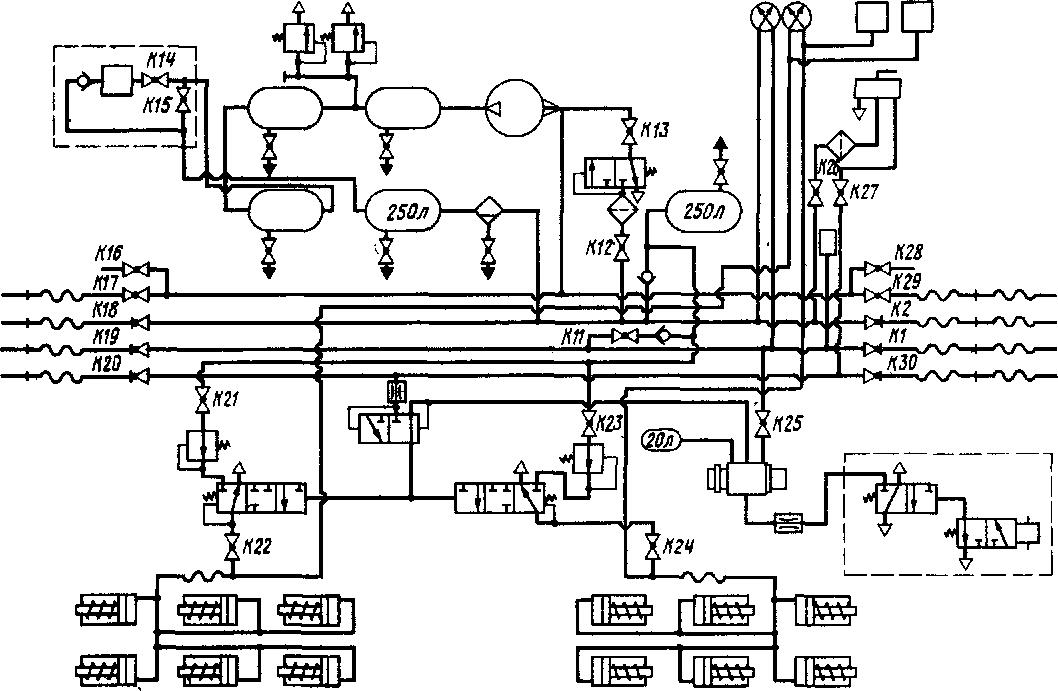 26—система осуш-вуар;
