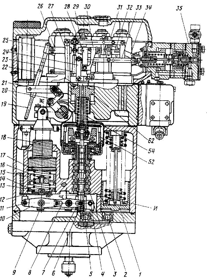 Объединенный регулятор тепловоза 2ТЭ116