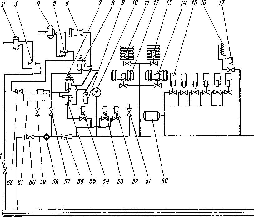 Схема воздухопро-