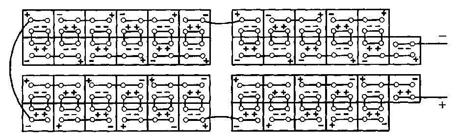 Схема соединения щелочных