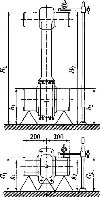 Схема проверки индикаторным
