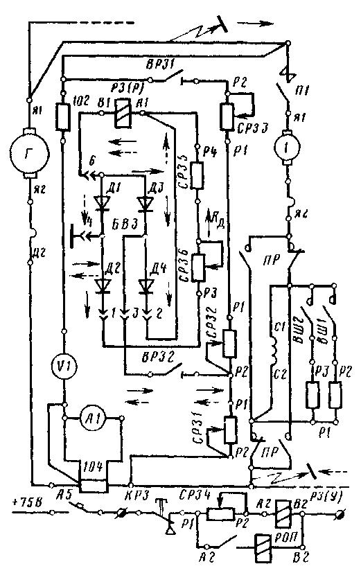 Рис 93 Принципиальная схема