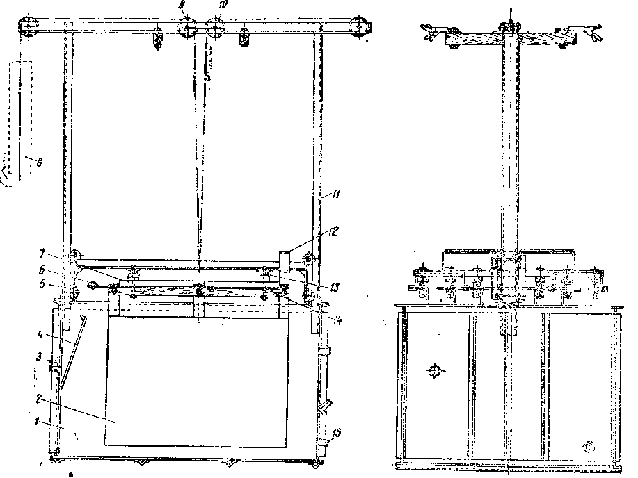 Эскиз водяного реостата: і-бак